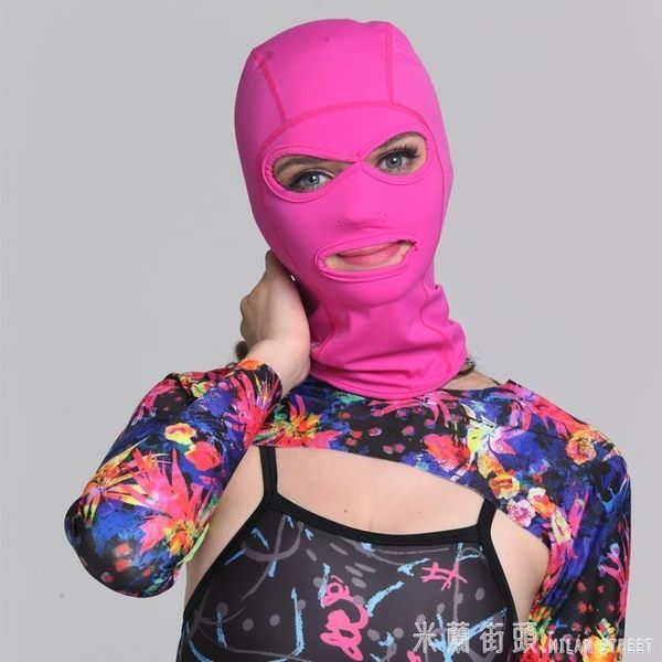 臉基尼 FEW 飄牌男女戶外頭套 臉基尼浮潛游泳泳帽 防曬面罩