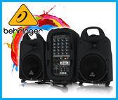 【小麥老師樂器館】Behringer 耳朵牌 PPA500BT 攜帶式行動藍芽 PA 喇叭 (500瓦) 附麥克風