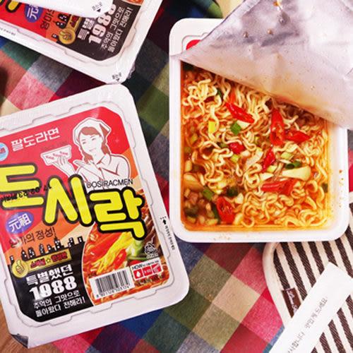 韓國 八道Paldo 午餐盒麵(86g) 原味/泡菜味/辣炒年糕味 3款可選【小三美日】團購/泡麵