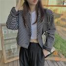 西裝外套女韓版寬鬆休閒西服氣質顯瘦上衣【橘社小鎮】