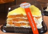 三角形蛋糕盒烘焙包裝一次性透明慕斯千層芝士切塊8寸加厚打包盒