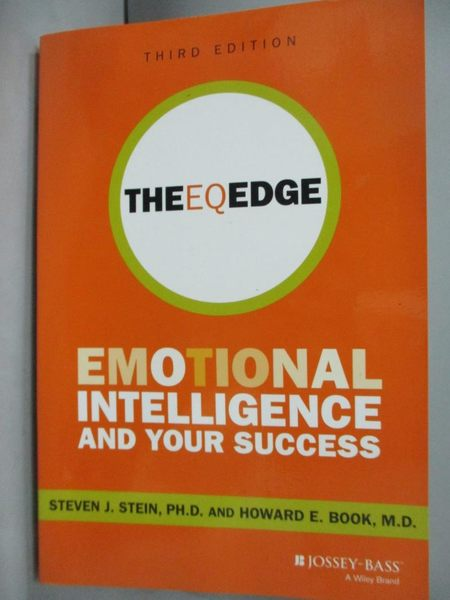 【書寶二手書T4/傳記_YJM】The EQ Edge: Emotional Intelligence and Your