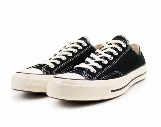Converse 低筒休閒鞋 男女款 70S小黑 NO.162058C