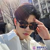 韓版潮男士無邊框一體式偏光墨鏡開車駕駛防紫外線太陽鏡【櫻桃菜菜子】