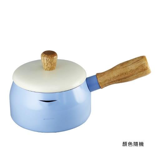 日式多用途巧克力牛奶鍋 14cm (顏色隨機出貨)【BG Shop】鍋子/湯鍋