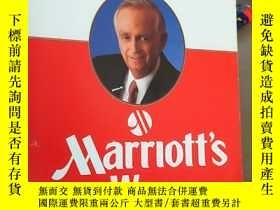二手書博民逛書店The罕見Spirit to Serve Marriotts WayY194136