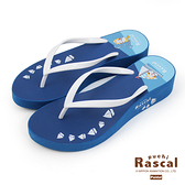 Paidal x Rascal小小浣熊揚帆水手夾腳厚底拖鞋