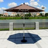 戶外傘庭院傘室外大太陽傘摺疊
