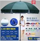 遮陽棚 凱元戶外遮陽傘大號雨傘擺攤傘太陽傘廣告傘印刷定制折疊圓沙灘傘 星河科技DF