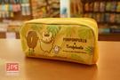 Pom Pom Purin×toripicals 布丁狗 熱帶水果鳥 網型拉鍊筆袋 收納袋 黃 KRT-216331