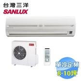 台灣三洋 SANLUX 單冷定頻一對一分離式冷氣 SAC-63FE / SAE-63FE