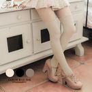 絲襪 直條紋格菱立體花邊假大腿襪絲襪-R...