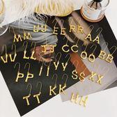 新春新品▶金屬字母耳環女 歐美個性韓國氣質長款耳墜時尚夸張耳飾品