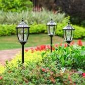 太陽能地燈 太陽能戶外庭院燈家用防水花園別墅草坪插地燈景觀裝飾草地燈路燈T