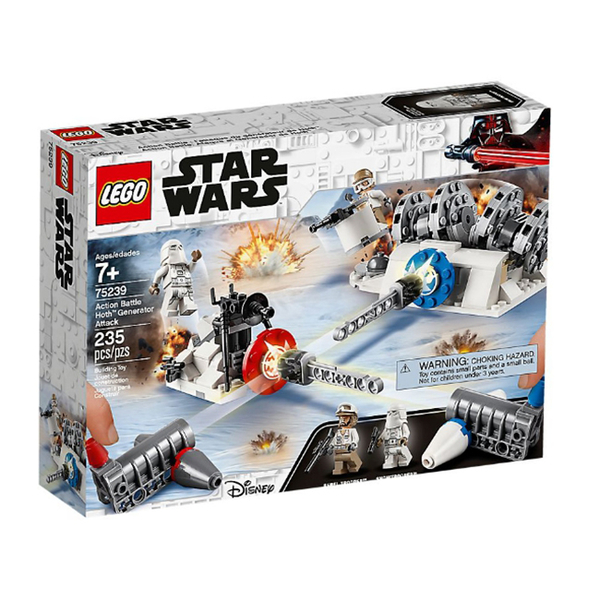 75239【LEGO 樂高積木】星際大戰 Star Wars-Action Battle Hoth Generator Attack(235pcs)