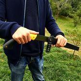 手鋸園藝果樹鋸家用鋸子戶外野營鋸子機磨精鋼園林伐木鋸手工鋸子