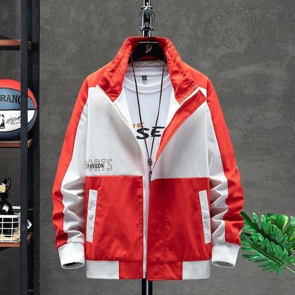 日系夾克外套秋季休閒 時尚男生外套 男士外套簡約 潮流外套潮牌外衣 男外套工裝運動韓版外套