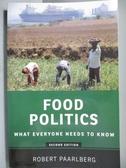 【書寶二手書T4/社會_NNX】Food Politics-What Everyone Needs to Know_Pa