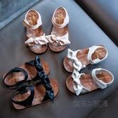 2020年新款女童涼鞋兒童寶寶童鞋軟底小童時尚防滑小女孩夏天鞋子 中秋節