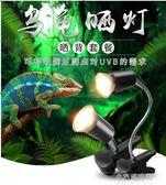 烏龜曬背燈uva uvb全光譜太陽加熱燈泡加溫保溫補鈣殺菌套裝迷你 小宅妮時尚