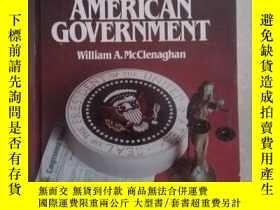 二手書博民逛書店Magruder's罕見American Government