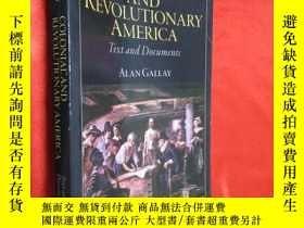 二手書博民逛書店Colonial罕見and Revolutionary Amer