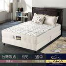 【LAKA】天絲棉+竹碳紗 三線蜂巢式獨立筒乳膠床墊(Free night系列)雙人5尺
