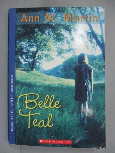 【書寶二手書T4/原文小說_IQI】Belle Teal_Martin, Ann M.