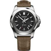 VICTORINOX 瑞士維氏 SWISS ARMY 機械錶 I.N.O.X. 手錶 (VISA-241836) 黑/43mm