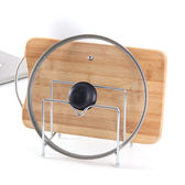 不銹鋼菜板砧板架鍋蓋架案板收納置物架