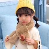 兒童圍巾女秋冬季男童寶寶可愛卡通毛絨圍脖嬰兒小孩韓版保暖脖套  潮流小鋪