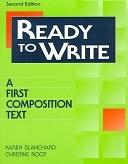 二手書博民逛書店 《Ready to Write: A First Composition Text》 R2Y ISBN:0201859998│Longman Publishing Group