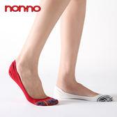 non-no 儂儂 大格紋隱形襪套(24302)(女) 乙雙入 四色可選 ◆86小舖◆