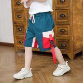 男童短褲男童工裝褲新款中大童休閒褲子夏季韓版兒童五分褲薄款短褲潮 寶貝計劃