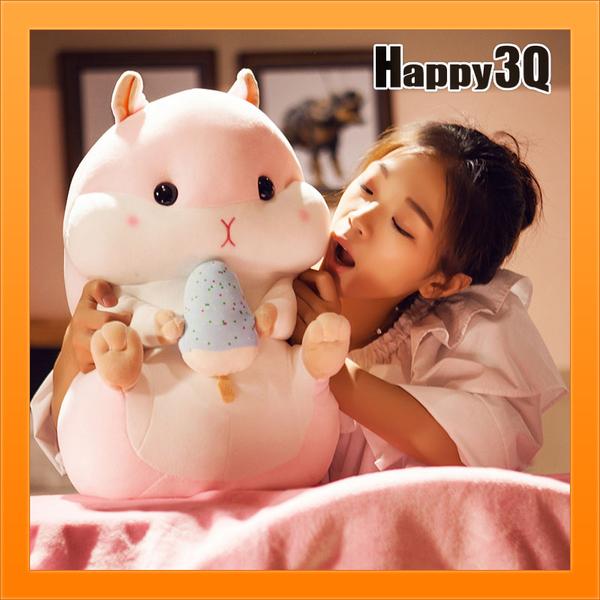 超大倉鼠玩偶抱枕布娃娃治癒胖倉鼠拿瓜子花栗鼠寵物鼠老鼠娃娃療癒56cm-多款【AAA3431】 預購
