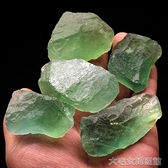 水晶石水晶碎石天然螢石大顆粒原石原礦擺件毛料礦石雕刻標本石裝修 快速出貨