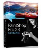 《友立》【PaintShop Pro X8 ULTIMATE Mini-Box ML(中/英)文 】完整版 (相片編輯/創意設計)~全館免運
