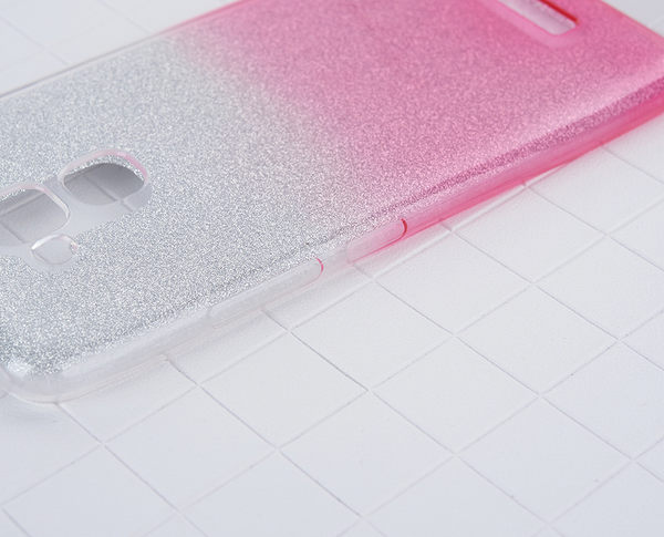 閃粉漸層 ASUS ZenFone 3 Max手機殼 華碩 ZC520TL保護套 漸變 軟殼 透明殼 矽膠套 防摔 全包丨麥麥3C