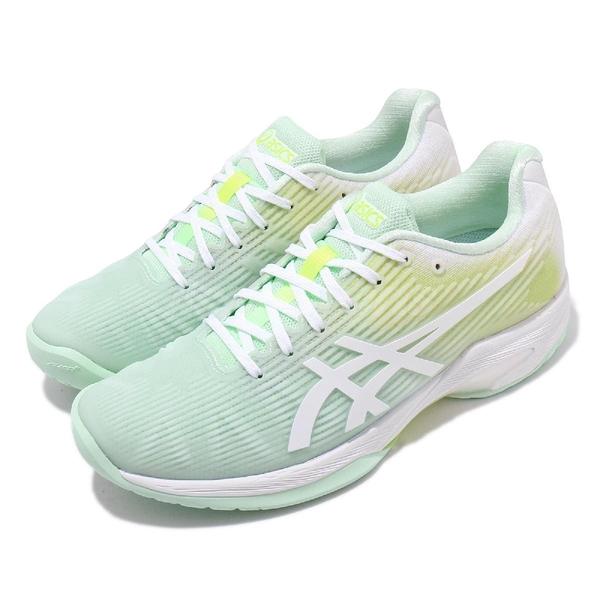 Asics 網球鞋 Solution Speed FF L.E. 摩登東京 綠 黃 白 女鞋 【ACS】 1042A101300