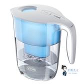 過濾水壺 凈水壺家用直飲台式凈水機滲透過濾自來水凈化水壺廚房凈水器T