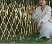 竹子竹籬笆扎欄花園菜園爬藤架伸縮柵欄圍欄籬笆室外圍牆竹柵欄 小明同學