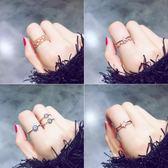 食指戒指女日韓學生指環潮人尾戒開口關節戒小指個性大氣韓國戒子 萬聖節服飾九折
