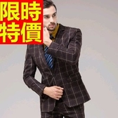 成套西裝 包含西裝外套+褲子 男西服-制服上班族與眾不同流行顯瘦高檔54o46[巴黎精品】