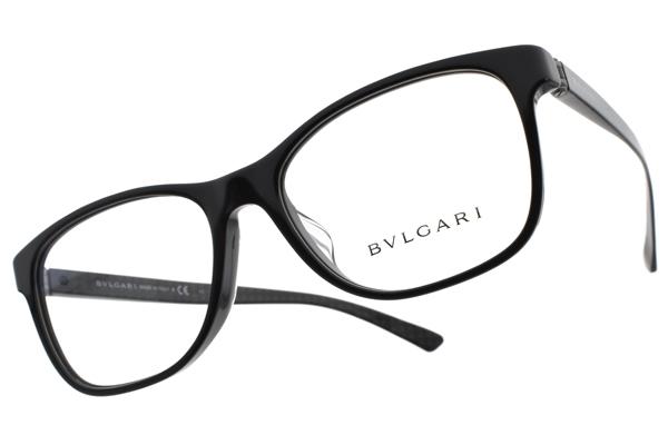 BVLGARI 偏光太陽眼鏡 BG3036F 501 (黑) 低調格紋款 平光鏡框 # 金橘眼鏡