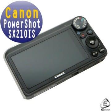 EZstick靜電式數位相機螢幕貼 - Canon PowerShot SX210IS 專用 (二入裝) 贈(通用型 相機機身貼)