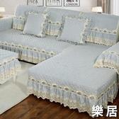 沙發墊 四季通用北歐布藝防滑簡約現代坐墊子全包萬能沙發套罩定做【快速出貨】