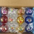 LED 發光彈力球 65mm 彩帶+水球/一盒12個入(促39) 發光球-錸-YF13625-YF13374