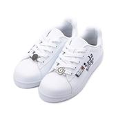 鬼滅之刃 滅字素色滑板鞋 白 KG8612 女鞋