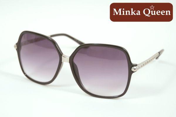Minka Queen 極致黑框(抗UV400)時尚百搭太陽眼鏡
