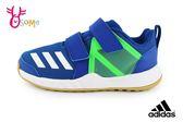adidas FortaGym CF K 運動鞋 男童 透氣 多功能訓練鞋Q9310#藍綠◆OSOME奧森童鞋